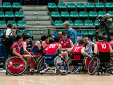 Final 4 Wheelchair Basket - Volpi Rosse 18-19 aprile 2015